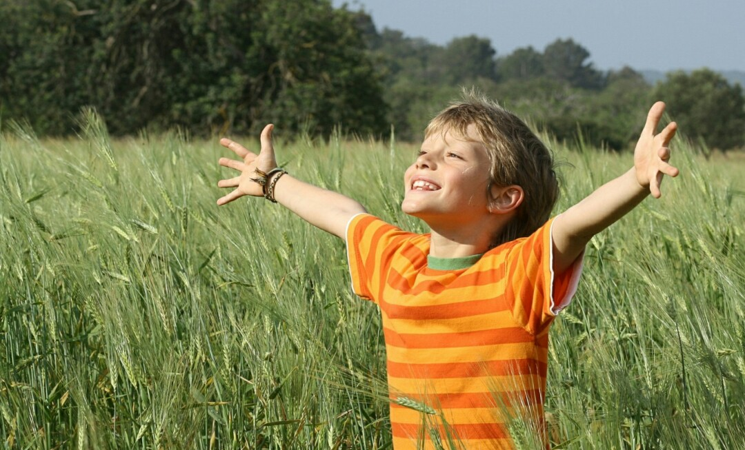 Enseña a tu hijo a ser feliz