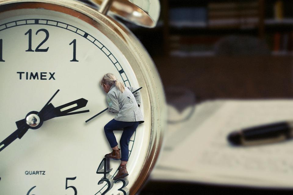 Efectos psicológicos del cambio horario.