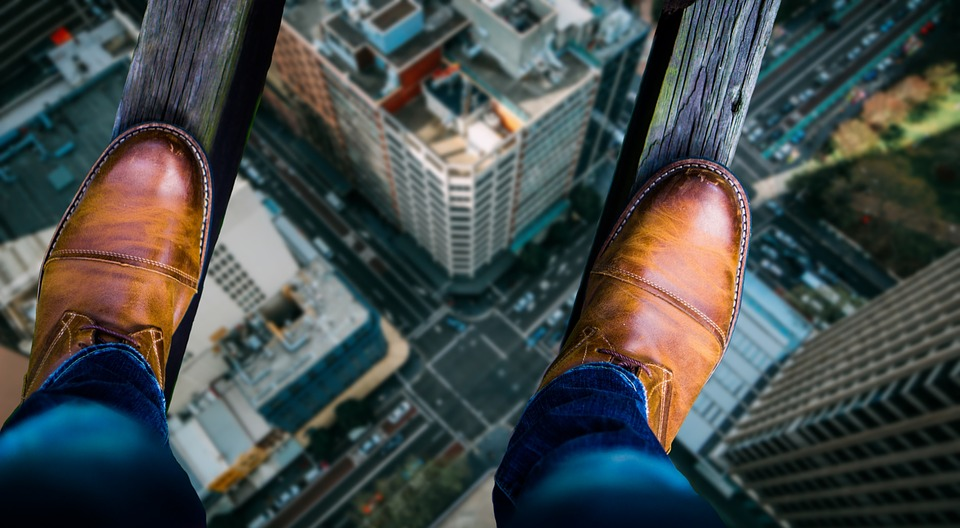 La acrofobia, miedo a las alturas